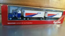 HERPA : Kenworth Truck with two Trailers .1:87 Scale.