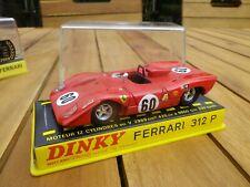 DINKY FRANCE 1432 FERRARI 312 P COMME NEUF EN BOITE D'ORIGINE voir photos