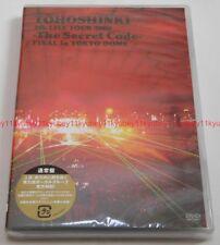 New TVXQ TOHOSHINKI 4th LIVE TOUR 2009 The Secret Code FINAL Tokyo 2 DVD Japan