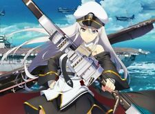 More details for first print limited edition azur lane bluray vol.1 with cd soundtrack