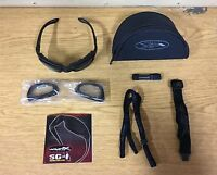 GENUINE US ARMY WILEY X SG-1 BALLISTIC GLASSES WITH 2 LENSES BRAND NEW !!!!!