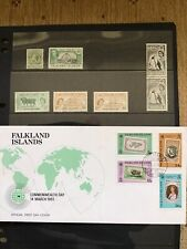 Falkland Islands Cover And Stamps