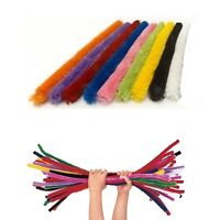 Jumbo Pipe Cleaners Coloured Long Cleaner Craft Girls Childrens Party Bag Filler