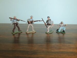 HTF confederate soldiers 54mm swoppet type lot 2.
