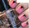 SALLY HANSEN Salon Effects Nail 16 Polish Strips File & Buffer Set U PICK COLOR!