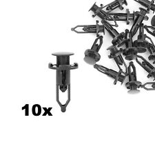 10x Push-Type Fastener Panel Clips Retainer for Toyota 52161-02020 52161-16010