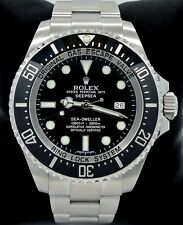 ROLEX SEA-DWELLER Deepsea 116660 Oyster SS Ceramic Bezel Watch *MINT CONDITION*
