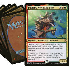 PHYLATH Commander Deck MTG Red Green Magic the Gathering Lot with Rares