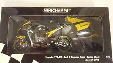 Carlos Checa . Yamaha YZR-M1. Tech3 Yamaha team. MotoGP 2006.  Minichamps 1/12