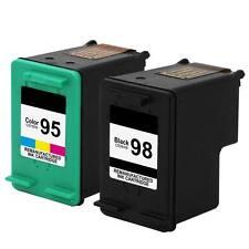 2PK HP 98 95 Ink Photosmart 2570 2575 2575v 2575xi 8050 D5069 D5100 D5145 D5155