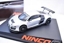 NINCO SPORT S SERIES  1/32 SLOT CARS # 50555 AUDI R8 GT3 TEST CAR LIGHTENED