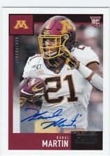 2020 Panini Score Football Kamal Martin Autograph Minnesota Gophers Gb Packers