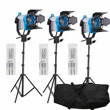FSKIT150B Fresnel wolfraam Video continue verlichting 150W SPOT LIGHT PRO 3 inst