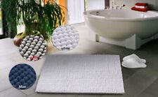 Non Slip Fluffy Microfiber Shag Rug Water Absorbing Bathroom Rugs Bath Mats