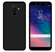 FUNDA de GEL TPU para SAMSUNG GALAXY A6 PLUS (2018) COLOR NEGRA