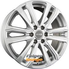 4 llantas de aluminio Mak Safari 6 Silver 8x18 et53 6x130 84,1 nuevo