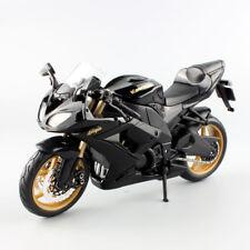 1/12 Kawasaki Ninja ZX-10R Moto Super Sports Motor Model Toy Xmas Gift