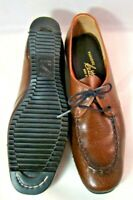 Vintage Paradise Kittens Shoes Womens Size 7.5 N Turino Brown Leather Lace Up