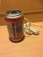 Telephone BUDWEISER GENUINE BEER CAN 1995 work VINTAGE