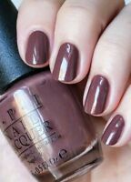 OPI Holland WOODEN SHOE LIKE TO KNOW? Brown Shimmer Nail Polish Lacquer H64 NEW!