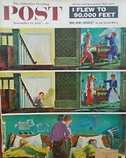 11-19-55 Saturday Evening Post I Flew to 90,000 Feet Daley Who Runs Chicago