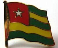 Togo Flaggen Pin Anstecker,1,5 cm,Neu mit Druckverschluss