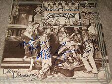 ALICE COOPER SIGNEDX4 GREATEST HITS VINYL LP NEAL SMITH MICHAEL BRUCE DUNAWAY