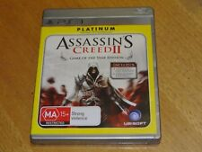 ASSASSIN'S CREED 2 GAME OF THE YEAR EDITION PS3 PLAYSTATION 3 *BARGAIN