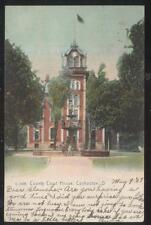POSTCARD COSHOCTON OH/OHIO COUNTY COURT HOUSE BUILDING COLORIZED VIEW 1906