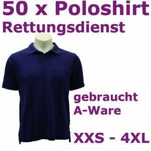 Konvolut Rettungsdienst Poloshirt 50 Teile DRK Feuerwehr Polohemd THW NOTARZT BW