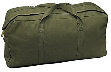 OD GREEN Heavyweight Jumbo Medic / Tanker Mechanics Army Canvas Tool Bag 8182 #2