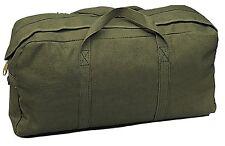 OD GREEN Heavyweight Jumbo Medic / Tanker Mechanics Army Canvas Tool Bag 8182 #2