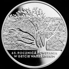 2008 Poland AG PF 20 ZL Warsaw Jewish Ghetto Uprising