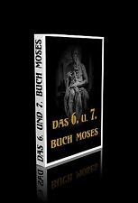 Das sechste und siebente Buch Moses, das ist: Moses magische Geisterkunst, das G