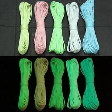 16FT-100FT 550 Paracord Parachute Cord Luminous Glow in the Dark 7 Core Strand