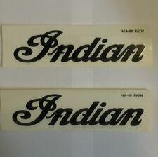Indian Motorcycle 03 Scout/Spirit Black Tank Decals Set, 89-624