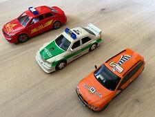 Dickie 3 Stück Feuerwehr Polizei Rennwagen Autos mit Blaulicht *für coole Jungs*