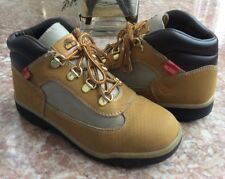 Timberland Pre-School Kid's Wheat Black Helcor Field Boots Size 3 #3372R EUC