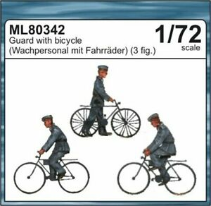 CMK Czech Masters Guards with bicycles 1/72 scale resin figures kit ML80342