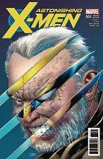 ASTONISHING X-MEN #1 1:50 CASSADY VARIANT MARVEL COMICS NEAR MINT 7/19/17