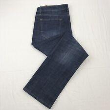 New Weatherproof Vintage Straight Mens Comfort Fit Jean Cotton Blend 38X34 Dark