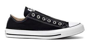 Converse Chucks Taylor All Star Slip on Unisex Schuhe Sneaker 164300C (schwarz)