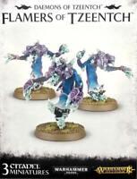 Warhammer AoS/40k Daemons of Tzeentch Flamers of Tzeentch (3) *NoS*