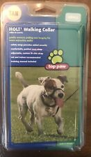 Dog Holt Walking Collar Tan Small for Puppy Control Pulling Training Adjustable