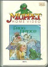 Muppet Home Video Frog Prince BETA  RARE