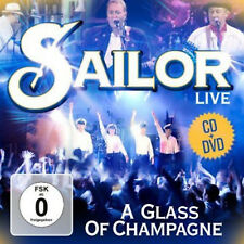 DVD CD Sailor A Glass of Champagne Live CD Und DVD Set