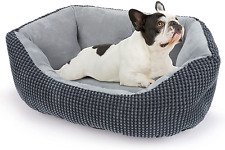 New listing Invenho Dog Bed for Small Dogs, Calming Cat Beds for Indoor Cats, Washable Soft