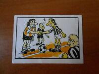 figurina tutto il calcio regola per regola n.101 - ed.jolly - con velina