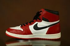 Game-worn Nike Air Jordan 1 Sneakers Michael Jordan Signed 1985 Holy Grail! Used