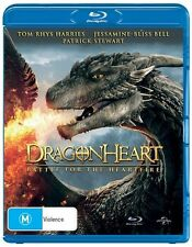 Dragonheart 4 - Battle For The Heartfire (Blu-ray, 2017)